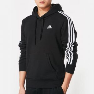 ADIDAS DŽEMPERIS SU GOBTUVU ESSENTIALS 3-STR PULLOVER HD FL BR3588