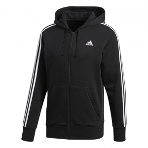 ADIDAS DŽEMPERIS SU GOBTUVU ESSENTIALS 3-STRIPES HOODIE