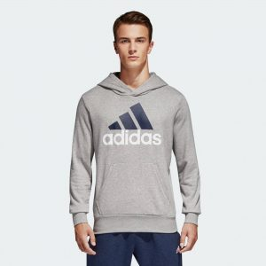ADIDAS DŽEMPERIS ESSENTIALS LINEAR PULLOVER HOOD FT S98775